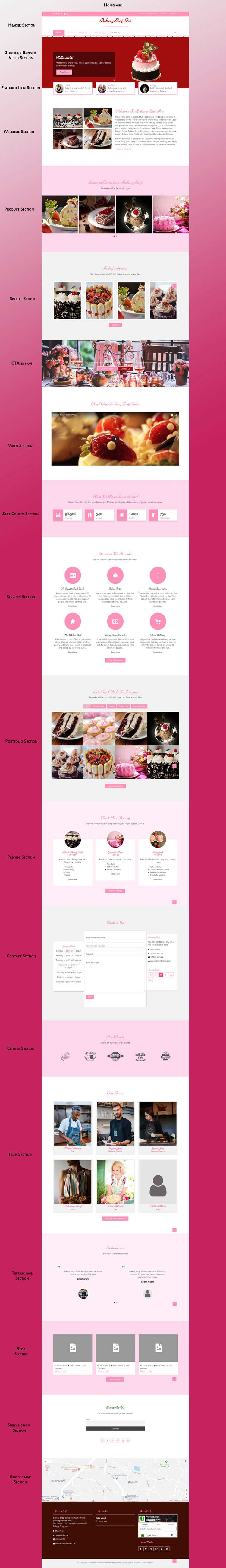Bakery Shop Pro homepage